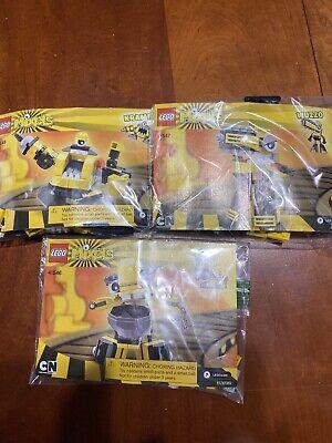 Retired LEGO Mixels Series 6 Yellow 41545 Kramm 41546 Forx 41547 Wuzzo