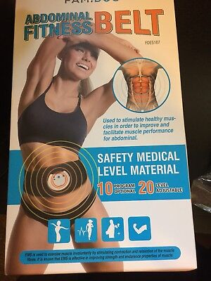 Famidoc Waist Trimmer Ab Belt - FDA Cleared Ab Trainer For Weight Loss and Tone for sale  Waukegan