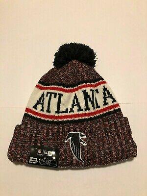 Cincinnati Bengals New Era 2018 Official Sideline Sport Knit Hat - Red/Black Atlanta Falcons Black Official Sideline