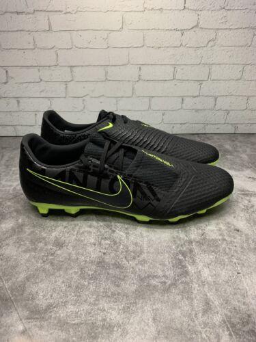 Nike Phantom Venom Academy Soccer Shoes Cleats Black/Volt Si