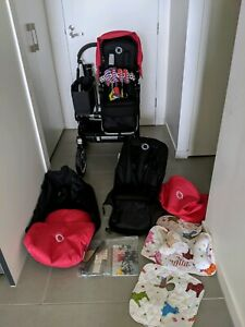 Bugaboo donkey mono with lots of extra (pram)