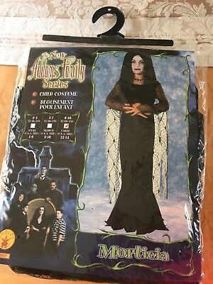 The Adams Family Costume (Girls The new Adams Family Morticia Halloween costume, size 12-14)