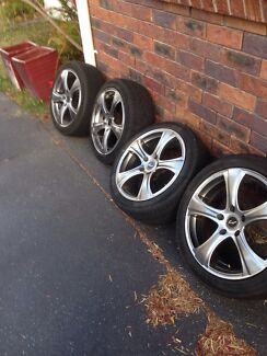 """17"""" Koya Rims x4 5x114.3 Redcliffe Redcliffe Area Preview"""