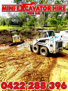 Mini Excavator Hire Wide Bay Pialba Fraser Coast Preview