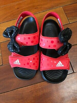 NWOB Adidas Sandals Kids 5