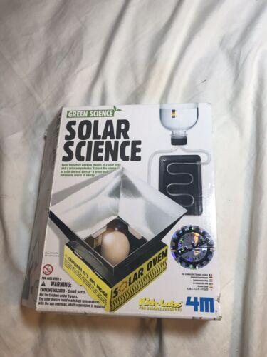 NEW SOLAR OVEN & WATER HEATER KIT Green Science Solar Scienc