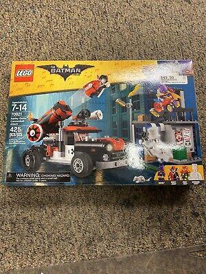 Lego 70921 - Lego Batman Movie - Harley Quinn Cannonball Attack - New in Box