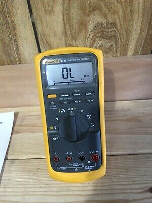 Fluke 87v True Rms Multimeter 87-5 Lots Of Extras
