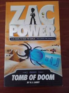 Zac Power Books 5- Good Condition - $4 each - See my other ADS Boronia Heights Logan Area Preview