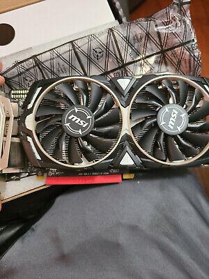 MSI AMD Radeon RX 470 Armor 8GB GDDR5 Graphics Card (RX 470 ARMOR 8G OC)