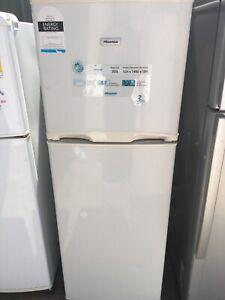 Free delivery.Hisense fridge 203L