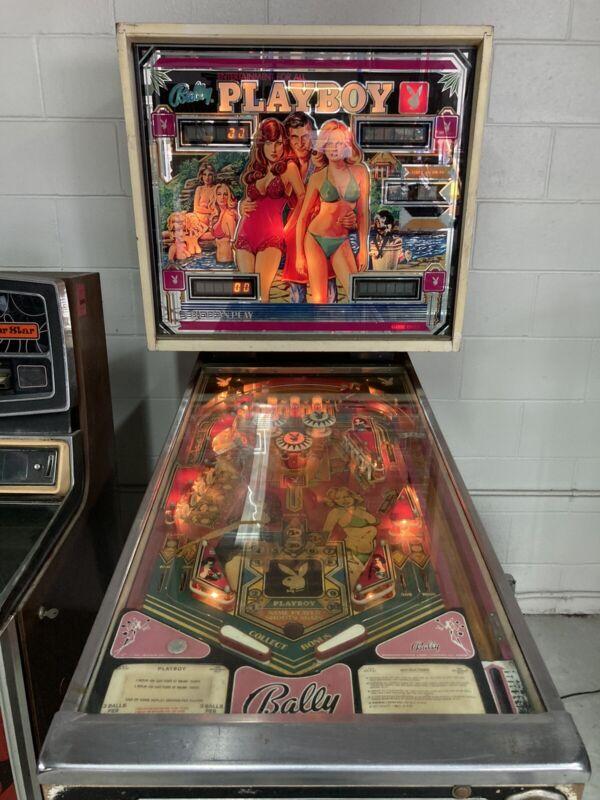 PLAYBOY BALLY PINBALL MACHINE 1978