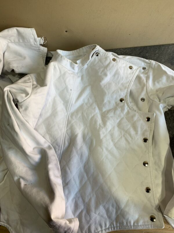AMERICAN FENCING GEAR..USA MADE..JACKET..SZ 46 With Pants C15