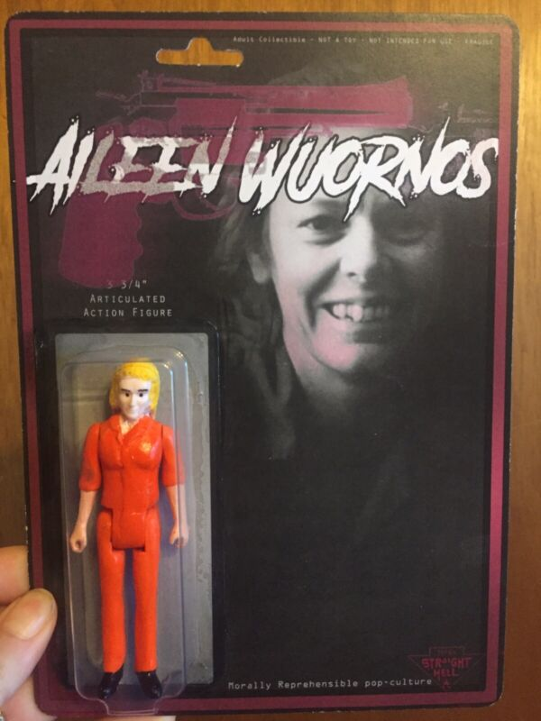 Aileen Wuornos Serial Action Figure True Crime Cult Oddities Toy