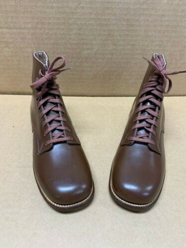 Vintage Boys Leather Shoes...New Old Stock