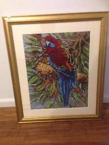 Tapestry and frame Northgate Port Adelaide Area Preview