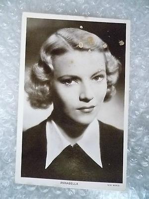 Real Photo Postcard- ANNABELLA, French Cinema Actress