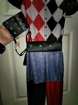 Harley Quinn Halloween costumes with accessories for girls lg