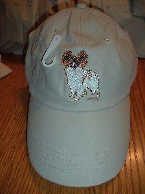 PAPILLON BASEBALL CAP -  BY GR8 DOGS