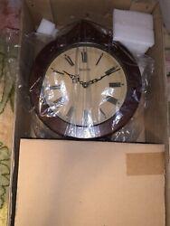 Bulova Wall Clock Collection with Pendulum - Cherry Wood BRAND NEW WITH BOX