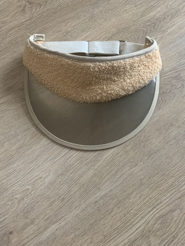 Vintage Visor With Terrycloth