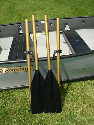 BOAT  OARS WITH OAR LOCKS,  NEW Breakdown 6 1/2'   (free shipping) MADE IN USA for sale  Shipping to Ireland