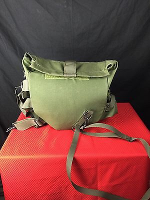 Used, US Military Gas Mask Carrier Bag Pouch M40 / M42 Olive Drab Green EUC for sale  Charlotte