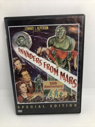 Invaders From Mars DVD, 2002 Special Edition - LIKE NEW - $19.99