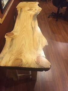 Live Edge (large size) Sofa/Accent table