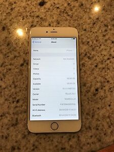 iPhone 6+ Plus  64 Gig Gold