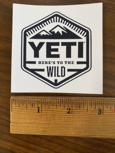 """Home Decoration - Authentic Yeti Decal Sticker As Shown 3"""" Die Cut Design"""