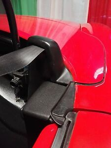 FIAT BARCHETTA soft top side ***COVERS SET (2pcs) WITH SPRINGS AND BARS***