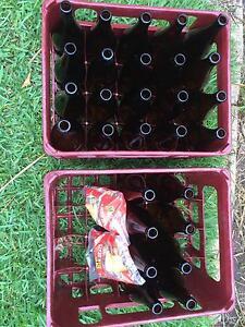 King Brown Bottles - Glass Home Brew Greenmount Mundaring Area Preview