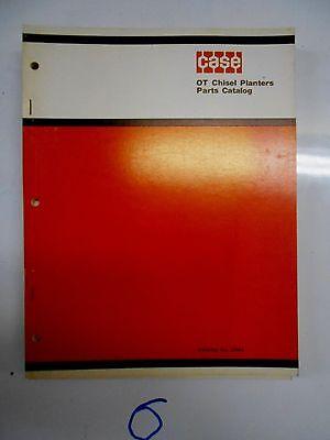 Case Ot Chisel Planters Parts Catalog No. C864