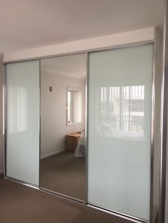 Complete Built-In Wardrobe (2 frosted 1 mirror) up to 3600mm **Fu