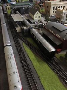 Large model rail layout Oakdale Wollondilly Area Preview