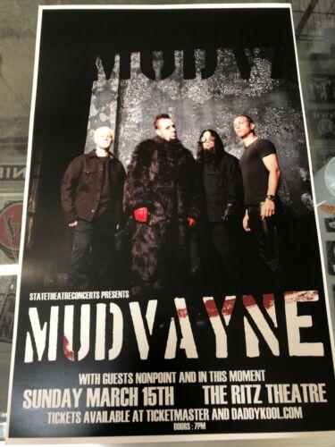 Mudvayne [Concert Poster] 11 x 17
