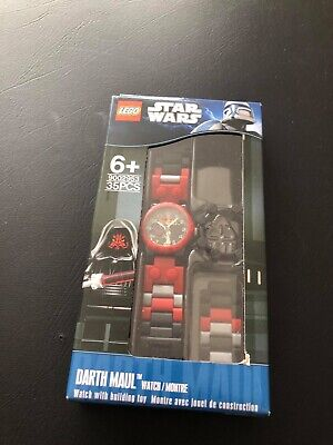 Lego Star Wars Darth Maul children watch. Watch only- without minifigure!