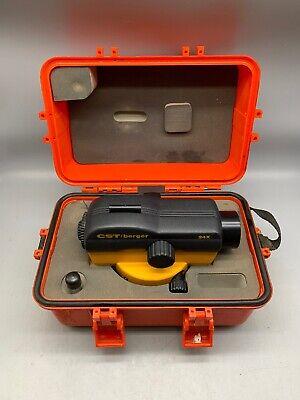Cst Berger 24x Laser Detection Leveler Level Preowned In Case Tt107