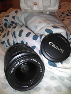 Camera accessories. Canon