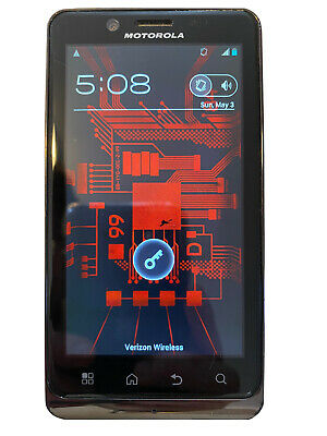 Motorola Droid Bionic XT875 - 16GB - Black (Verizon) Smartphone