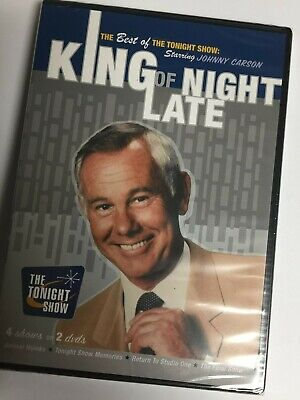 TIME/LIFE Best of the Tonight Show - King of Late Night (DVD,2007,2-Disc (Best Adventure Tv Shows)