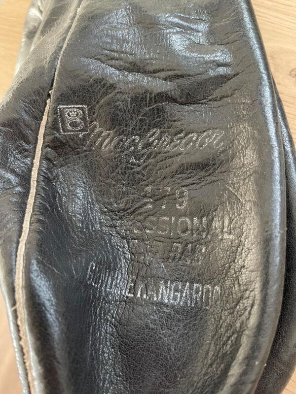 Vintage MacGregor G 479 The Leather Speed Bag Punching Bag Genuine Kangaroo