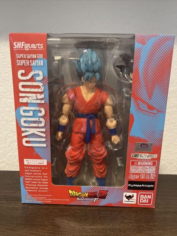 SH Figuarts Son Goku DBZ Resurrection F Brand New!!!
