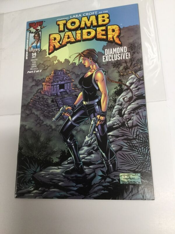 TOMB RAIDER #14 RARE DIAMOND EXCLUSIVE!! Part 2 Of 2