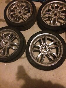 18 INCH TIRE AND RIM