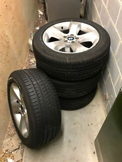 4X BMW X5 GENUINE 19''inch Alloy Wheels E53 5X120 PCD Vw T5 VAN