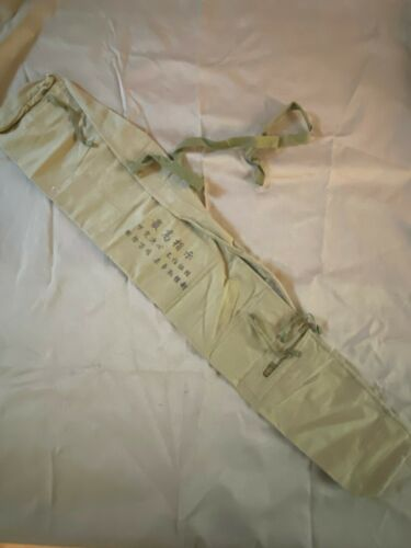 Scarce Special Original 7.62x39 rifle Chinese SKS Type 56 Canvas Case Cover Bag