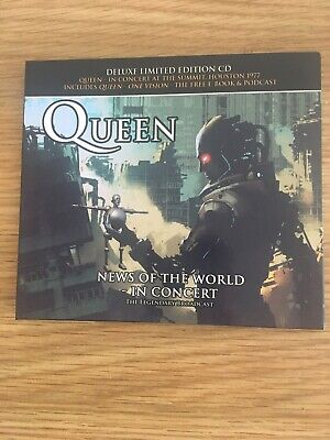 QUEEN News Of The World In Concert At The Summit Houston 1977 CD