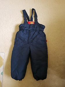 Size 2 kids snow overall Dunlop Belconnen Area Preview